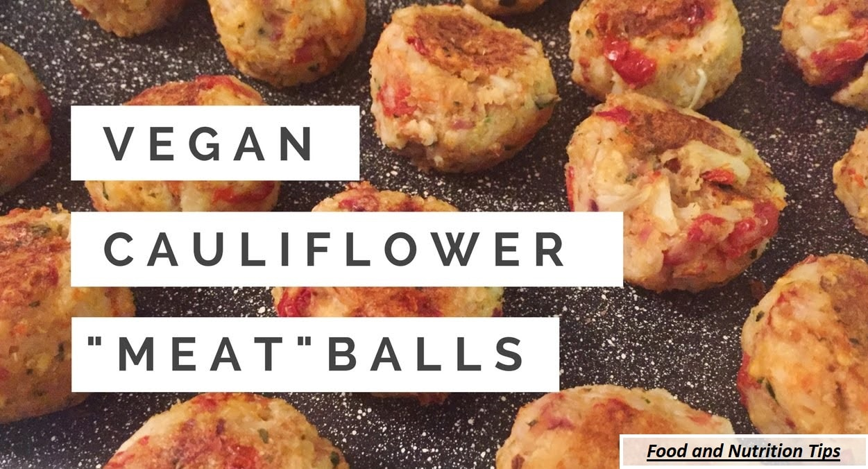 Vegan Cauliflower Meatballs