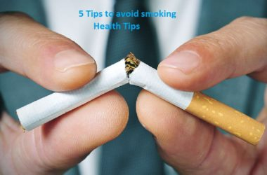 5 tips to avoid smoking