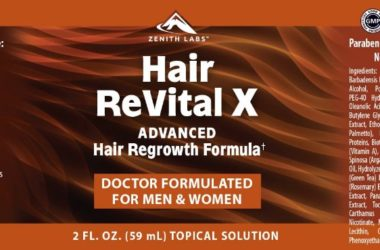Hair Revital X advanced hair regrowth formula